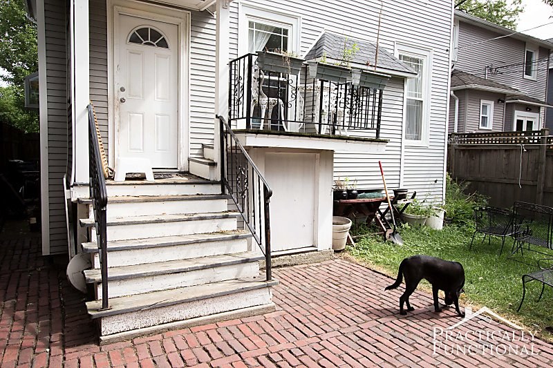 Project Curb Appeal: Painting The Front Steps
