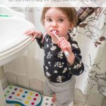 Love these tips and tricks for organizing baby stuff so that it doesn't take over your whole bathroom!