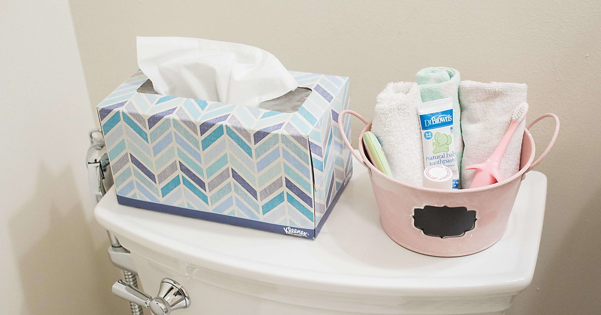 Tips For Organizing Baby Stuff In The Bathroom