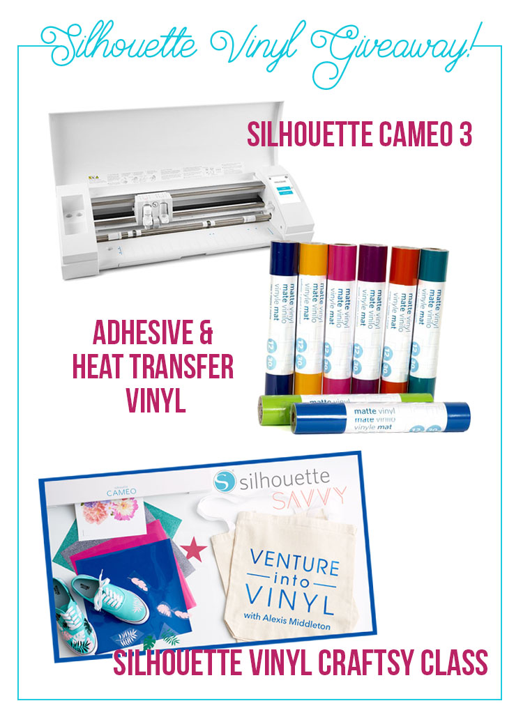 Silhouette vinyl giveaway