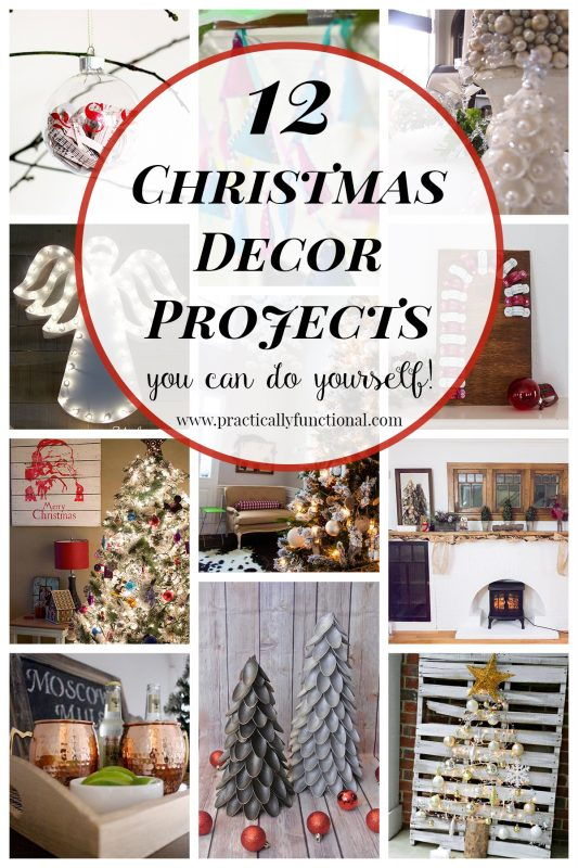 12 DIY Christmas decor projects you can easily do yourself!