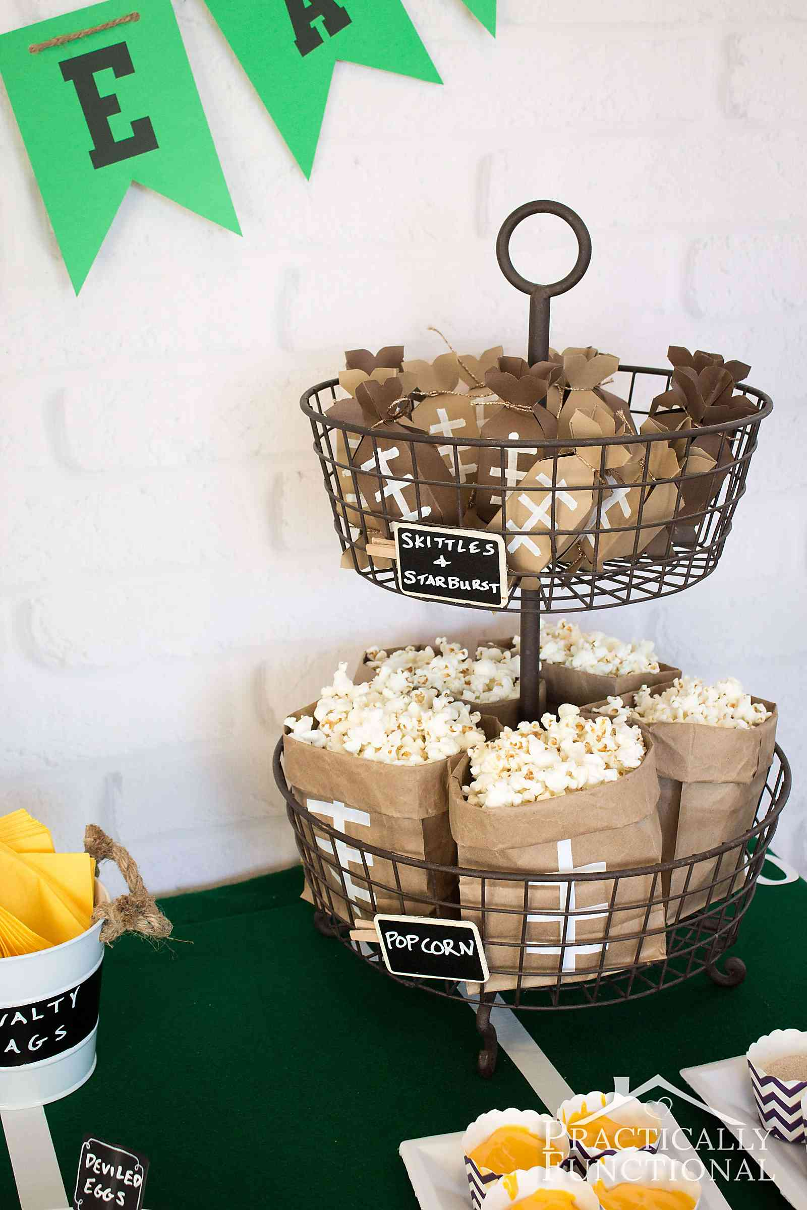 diy free printable football treat boxes
