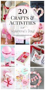 20 Fun Valentines Crafts & Activities
