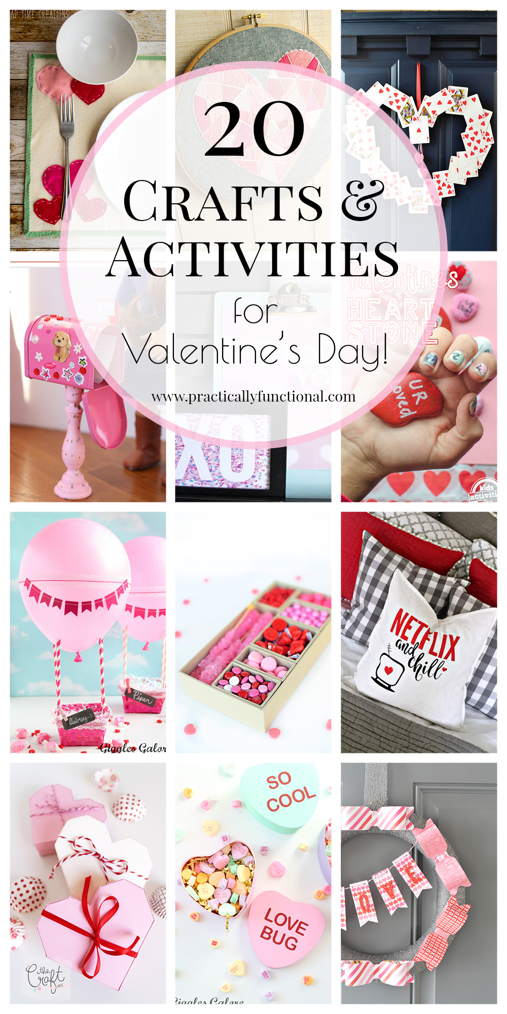 20 fun valentines crafts and activities to celebrate the holiday!