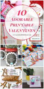 10 Cute DIY Valentines & Free Printables