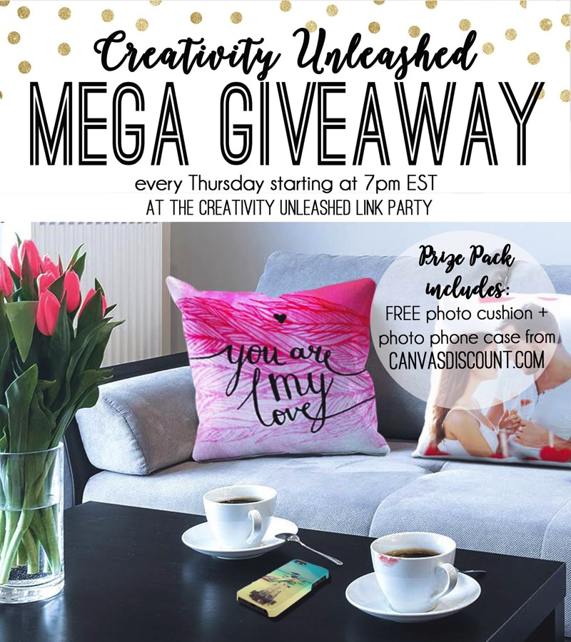 Share your latest projects, browse hundreds of others for inspiration, and enter to win a free photo pillow case and phone case at the Creativity Unleashed party!