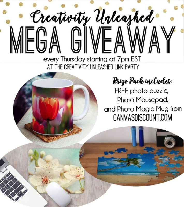 Share your latest projects, browse hundreds of others for inspiration, and enter to win a photo puzzle, mousepad, and mug at the Creativity Unleashed party!