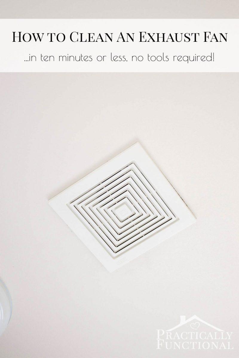 Bathroom no exhaust fan