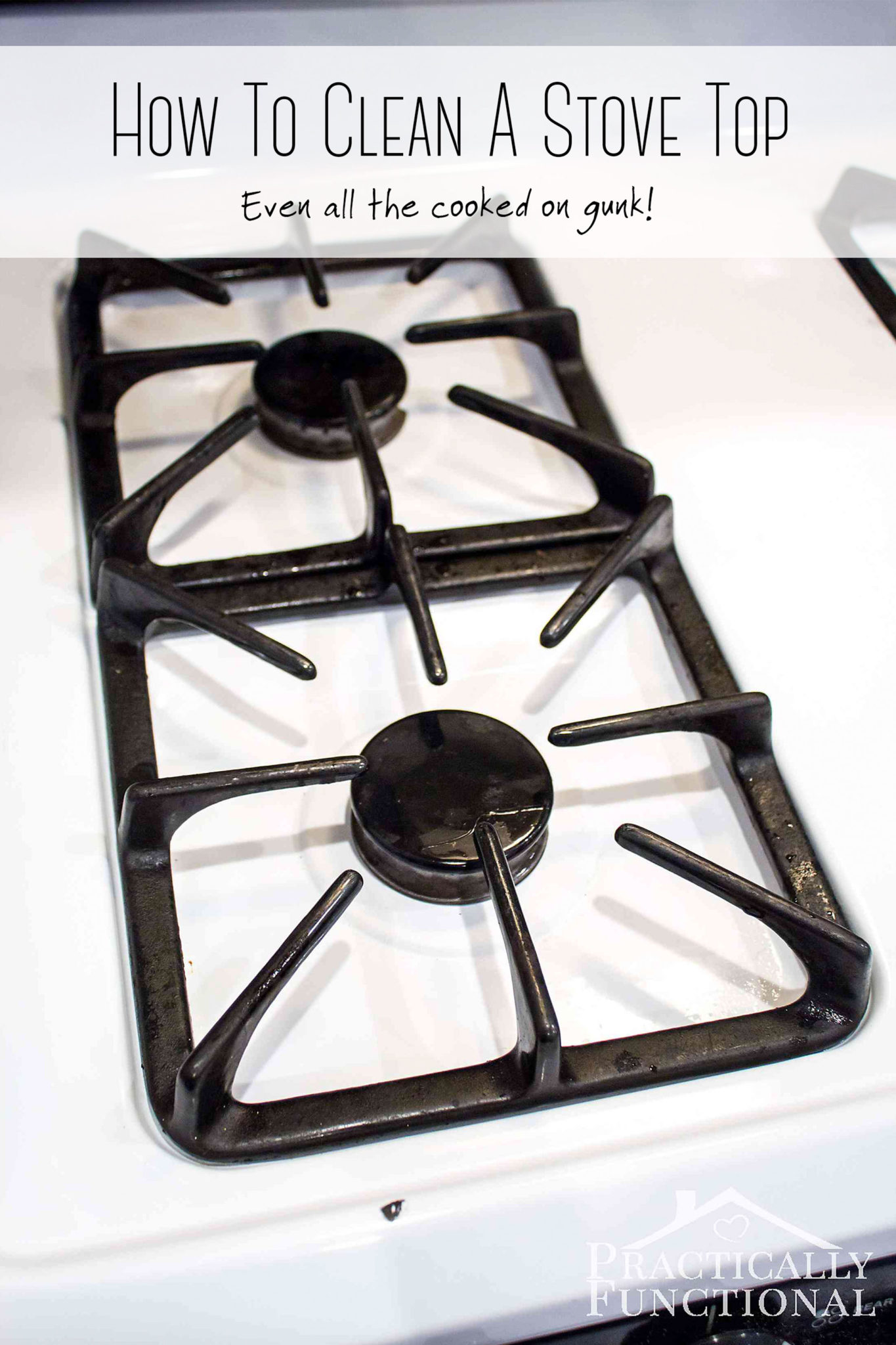 How To Really Clean A Stove Top Even