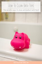 2 Surefire Ways To Disinfect & Clean Bath Toys