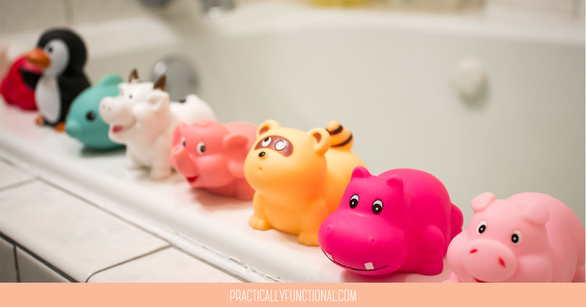 How To Disinfect And Clean Bath Toys