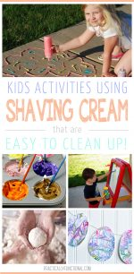 12 Fun Shaving Cream Activities For Kids
