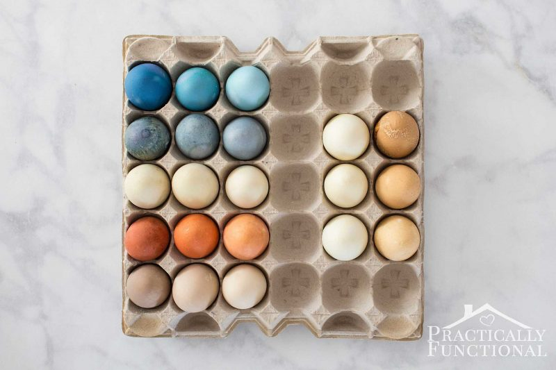 Learn how to dye Easter eggs naturally using ingredients from your kitchen!