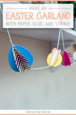 Paper Easter Egg Garland