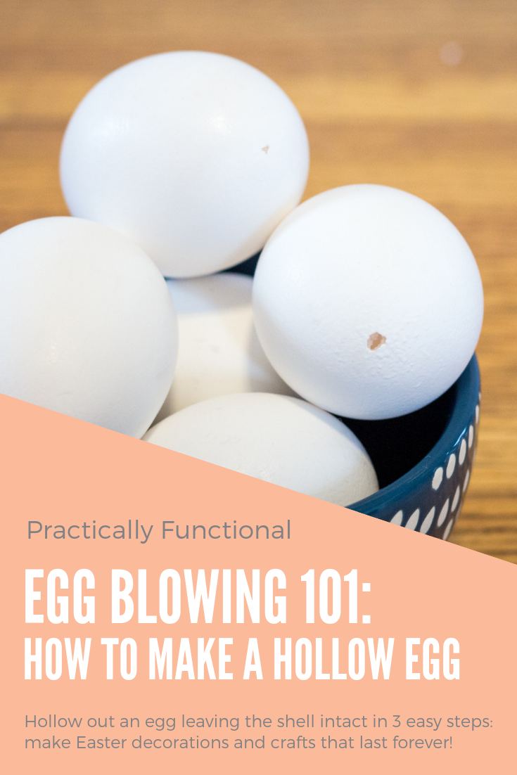 Egg blowing 101 learn how to blow an egg to make it hollow