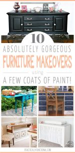 10 Painted Furniture Makeovers
