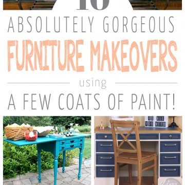 10 gorgeous painted furniture makeovers