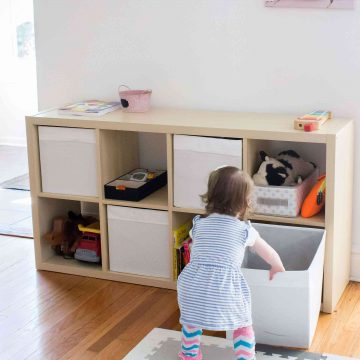 Simple Toy Organization That Really Works!