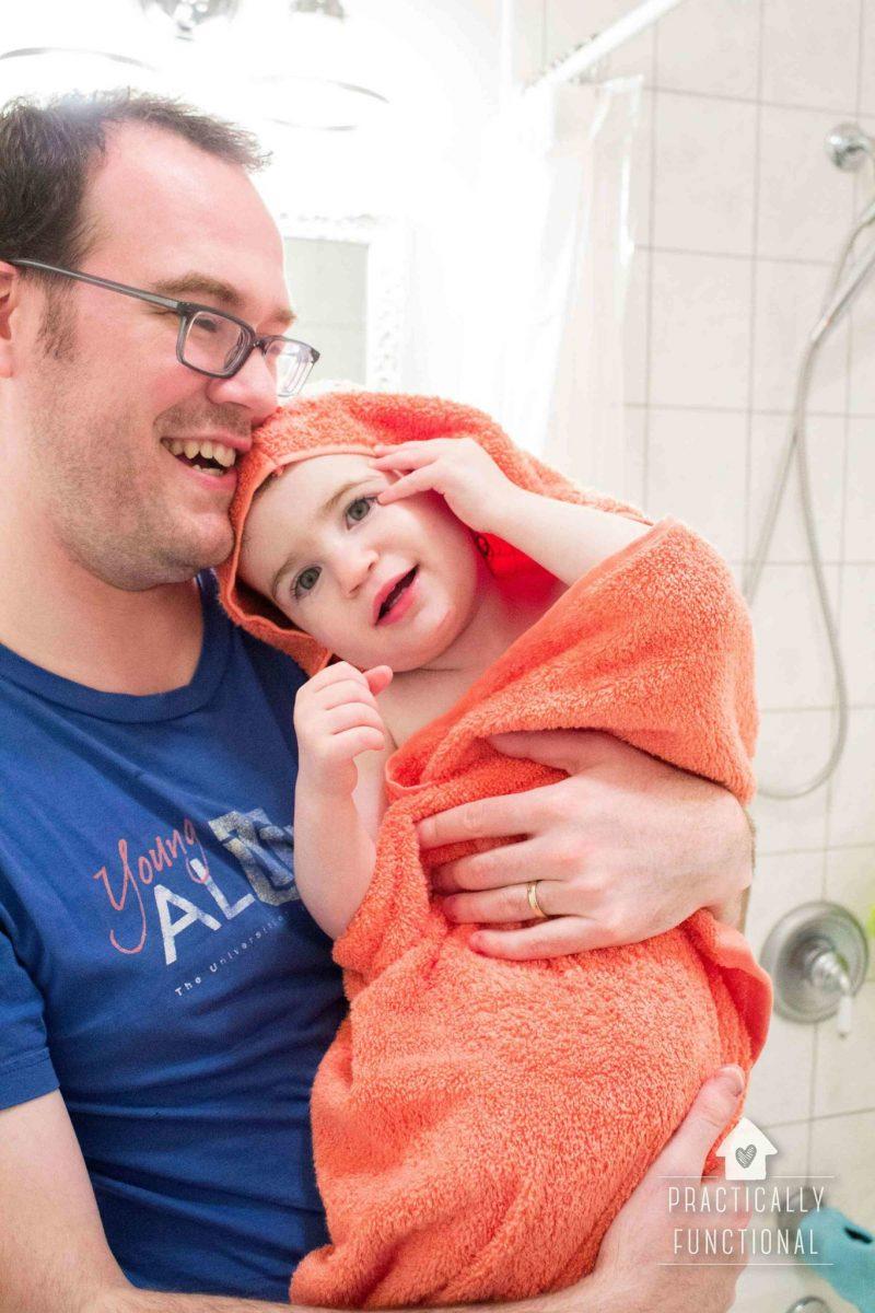 super easy diy hooded towel tutorial