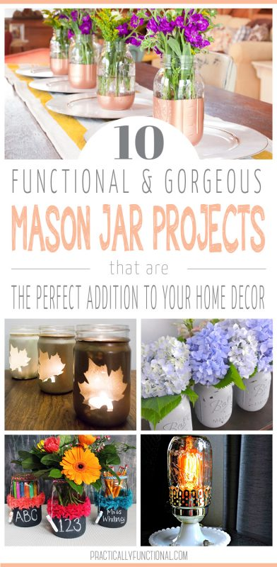 10 cool mason jar projects