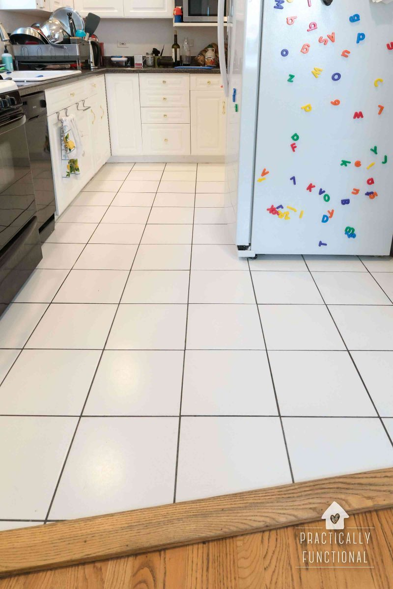 Best way to clean tile floor