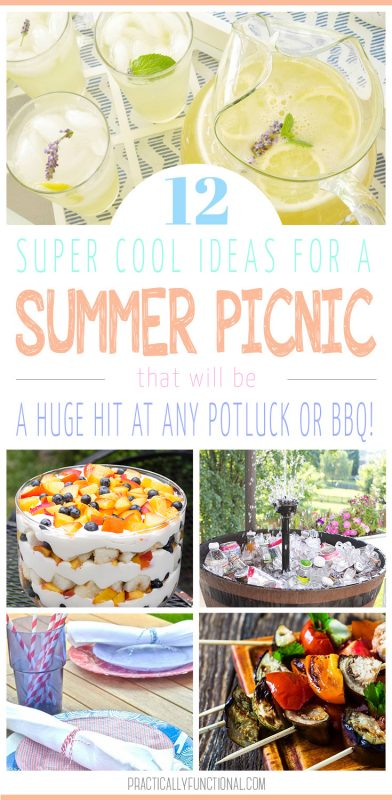 12 awesome summer picnic ideas for any potluck or bbq