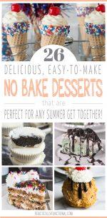 26 No Bake Desserts For Summer