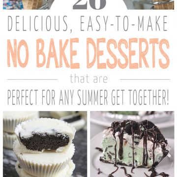 26 No Bake Desserts For Summer