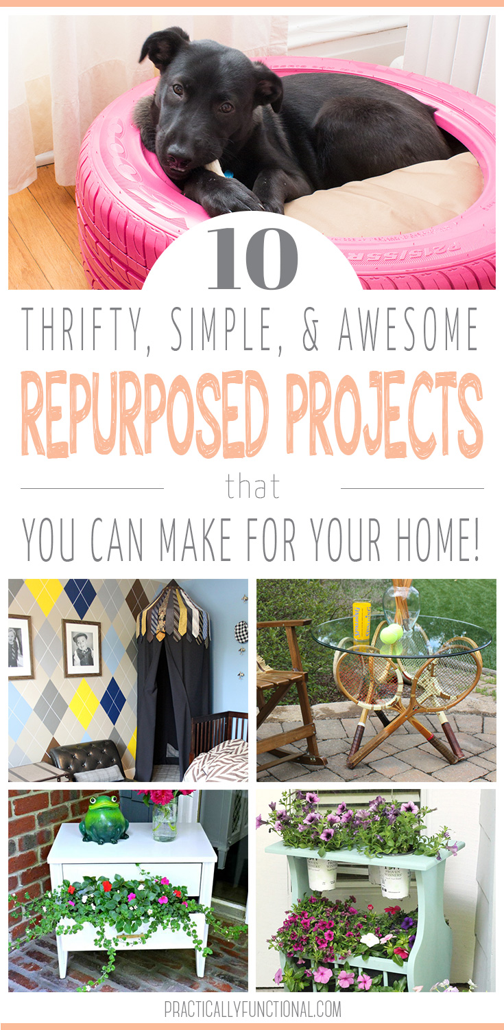 10 repurposed project ideas