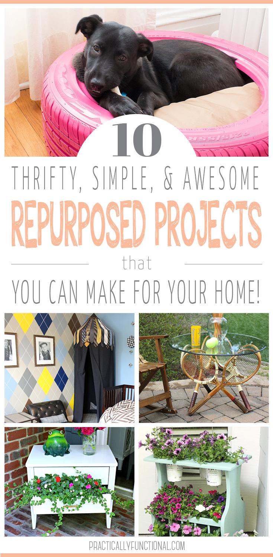 10 repurposed project ideas