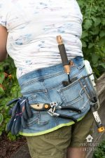 DIY Gardening Apron From Old Jeans
