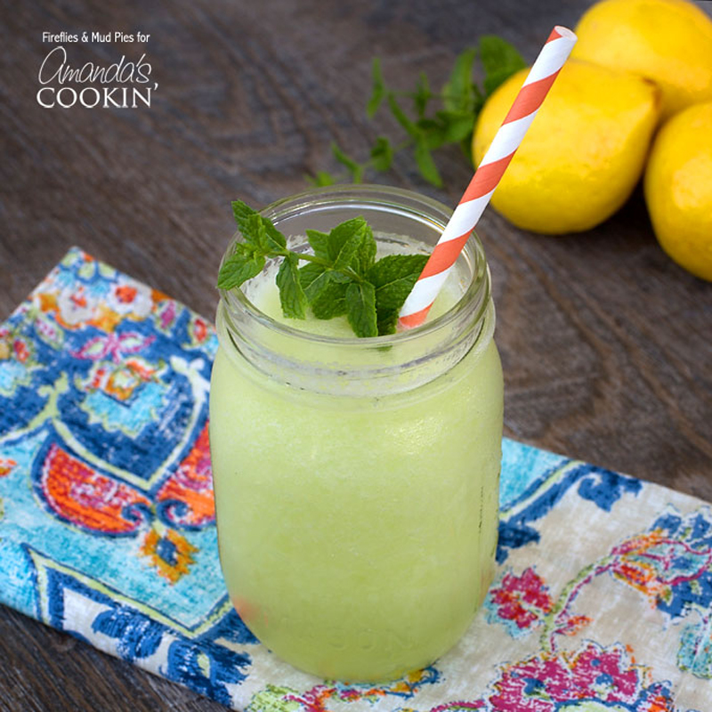 Honeydew Lemon Slush