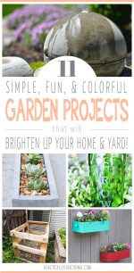 11 Garden Projects To Brighten Up Your Yard