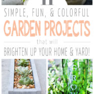 garden projects to brighten up your home