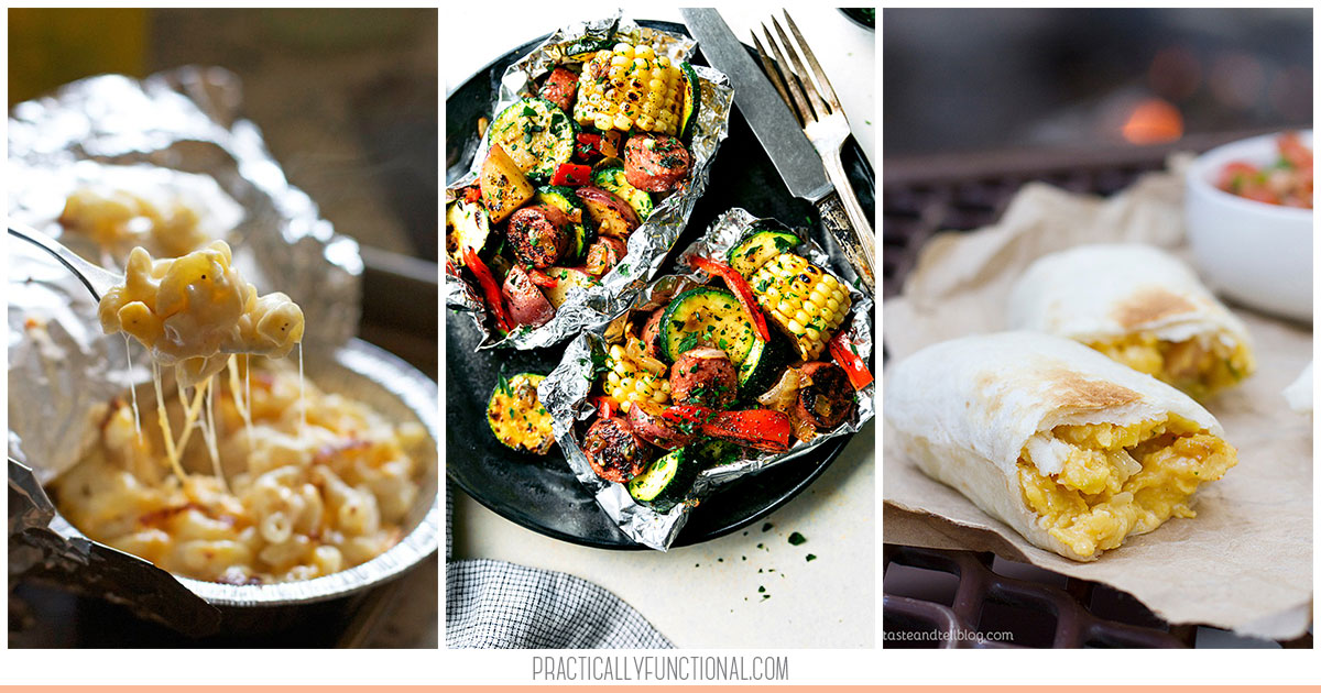 Outdoor Cooking Recipes Camping