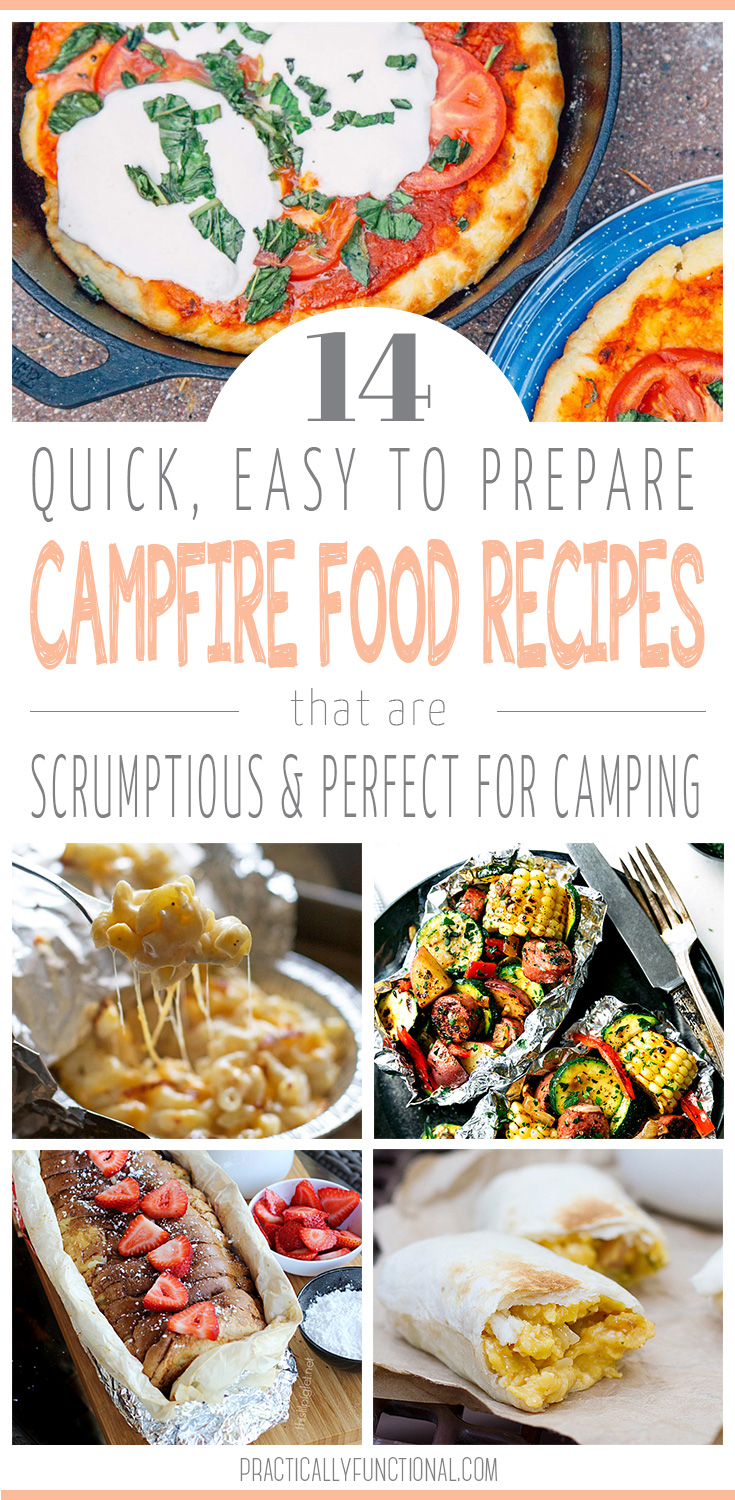 14 easy campfire food recipes