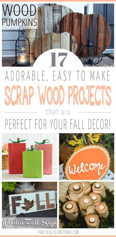 17 Simple Fall Wood Crafts