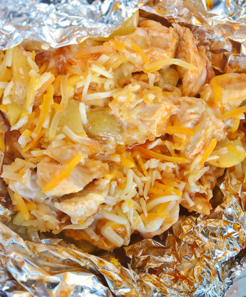 Life With 4 Boys Campfire Chili Cheese Fries Camping: 14 Easy Campfire Food Recipes