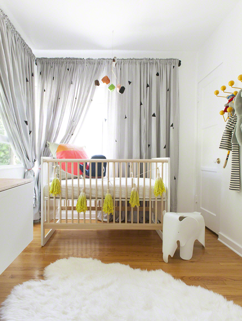 abstract chic nursery
