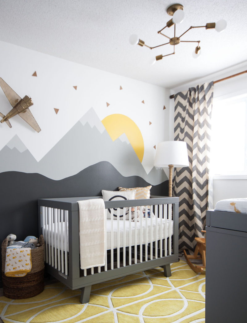 """""""He will move mountains"""" inspired nursery"""