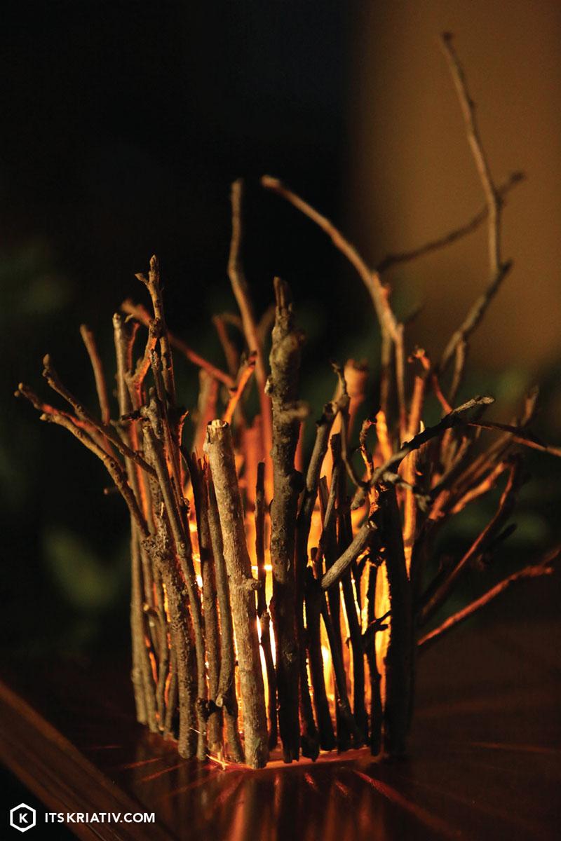 twinkling twig luminary