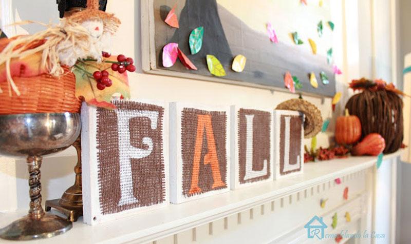 unique fall wooden sign
