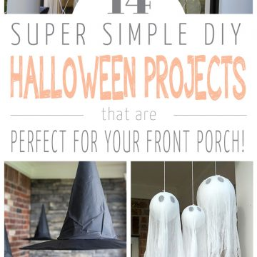 14 DIY Halloween porch decorations