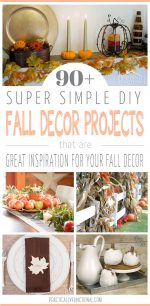 90+ Simple DIY Fall Decor Projects