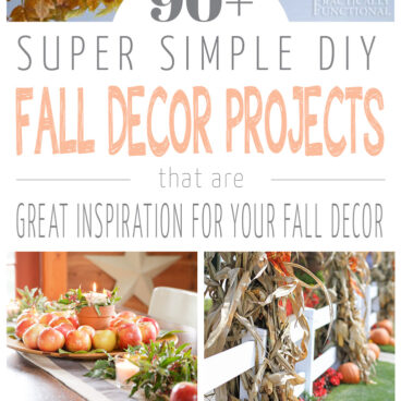 90 Fall Decor Projects