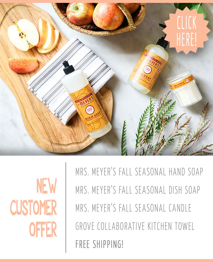 FREE Mrs. Meyer's Fall Scents Kit From Grove Collaborative
