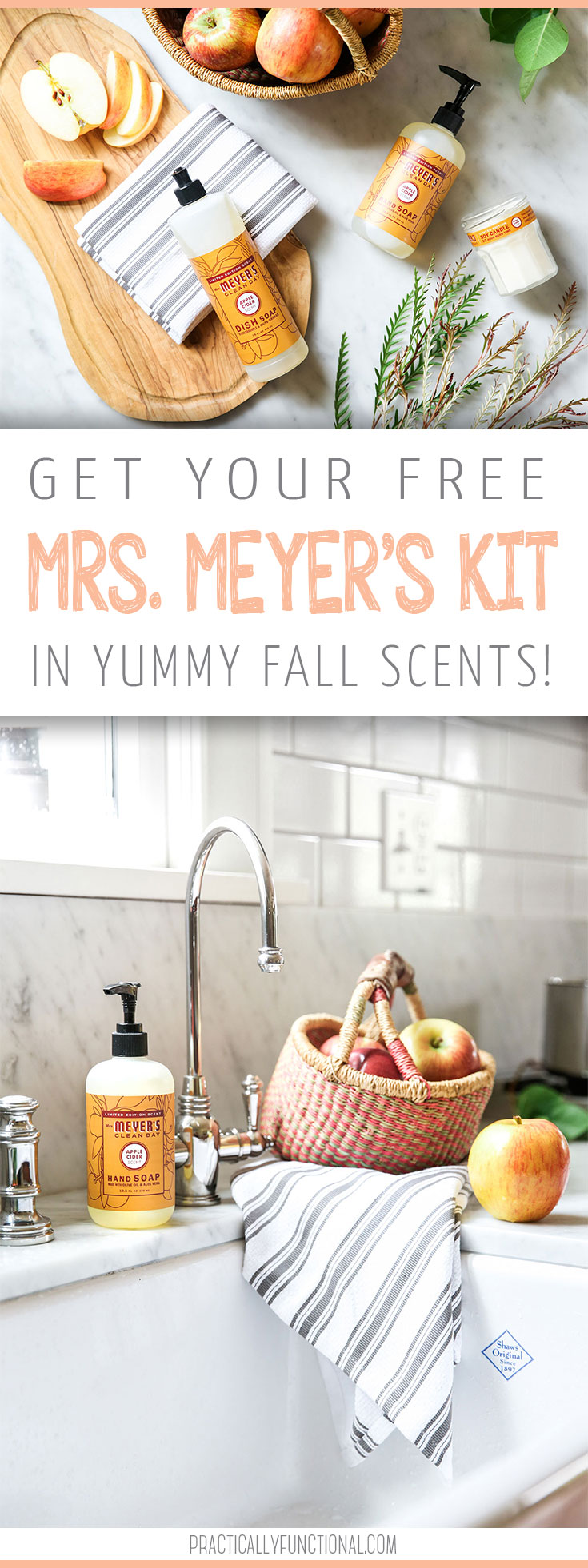 Mrs. Meyers's Fall Scents Kit