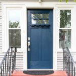 How to paint a front door the easy way