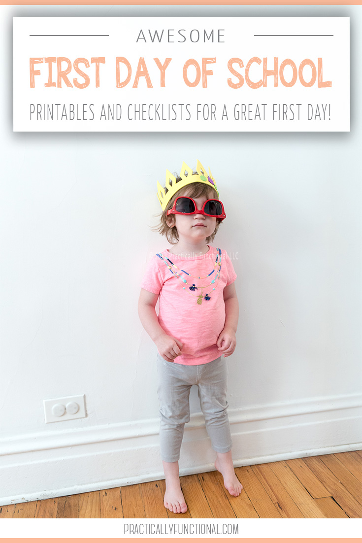 I'm sharing tips and free printables for making the first day of school the best day of school this year!