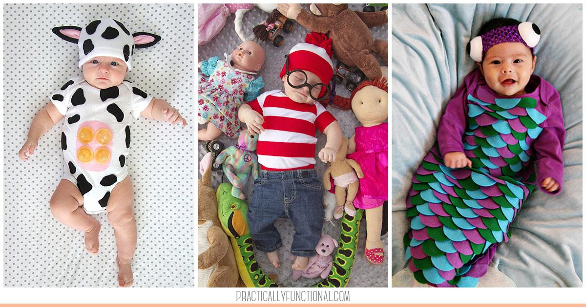 16 Diy Baby Halloween Costumes